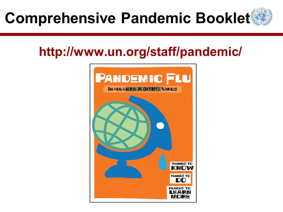 Comprehensive Pandemic Booklet