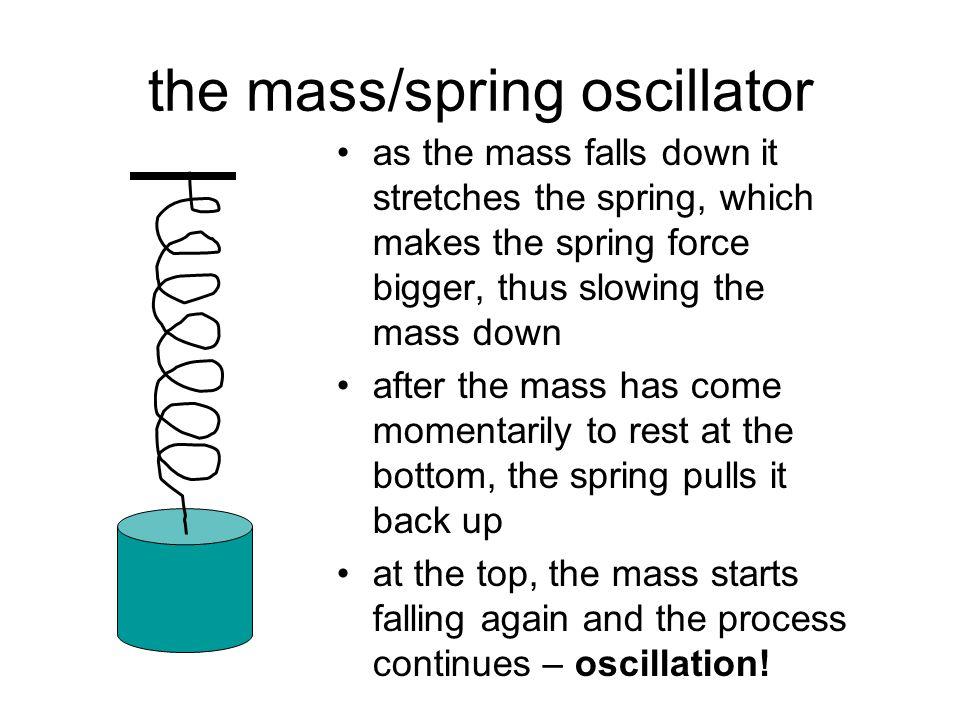 the mass/spring oscillator