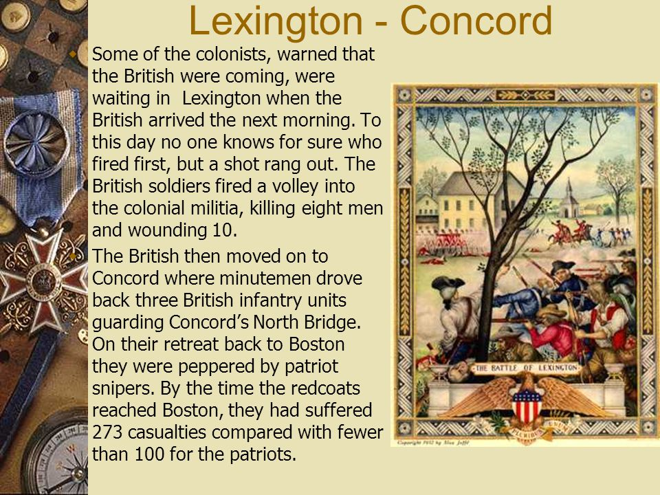 Lexington - Concord
