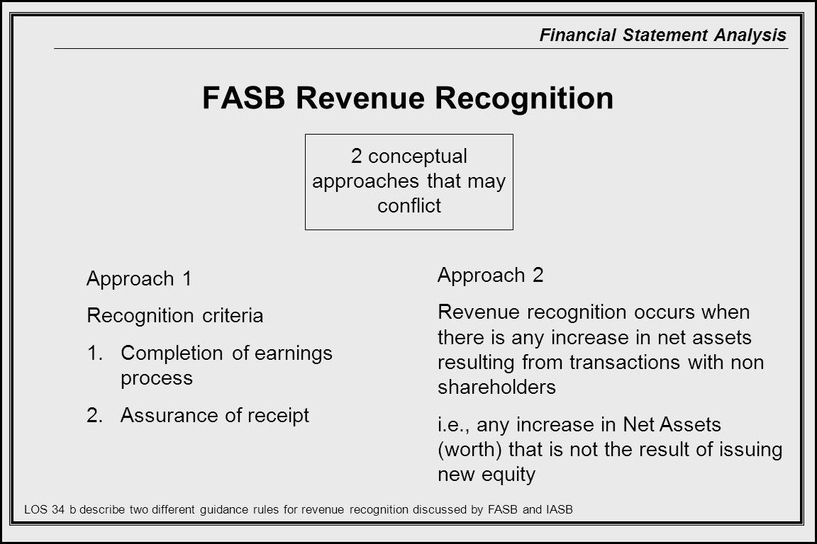 FASB Revenue Recognition