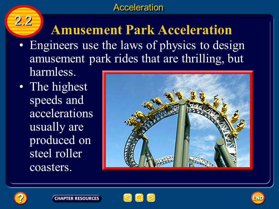 Amusement Park Acceleration