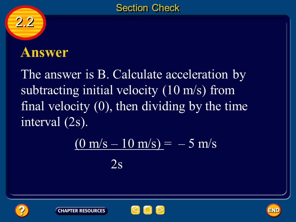 Section Check 2.2. Answer.