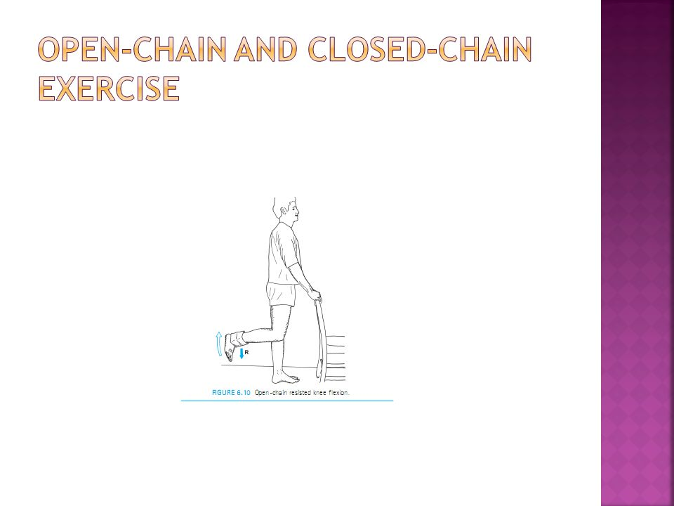 Open-Chain and Closed-Chain Exercise