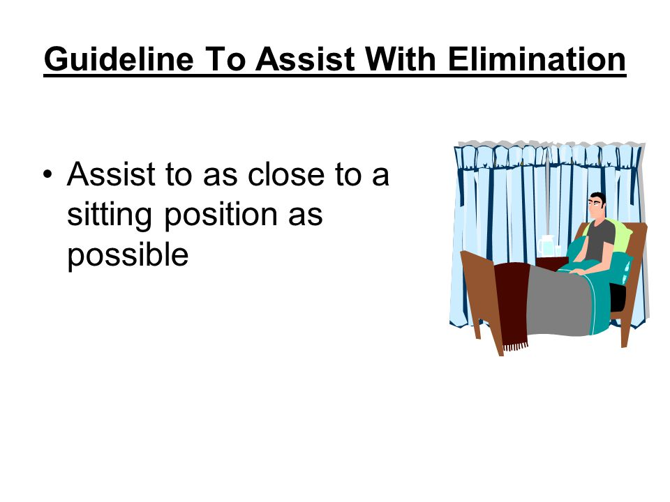 Guideline To Assist With Elimination