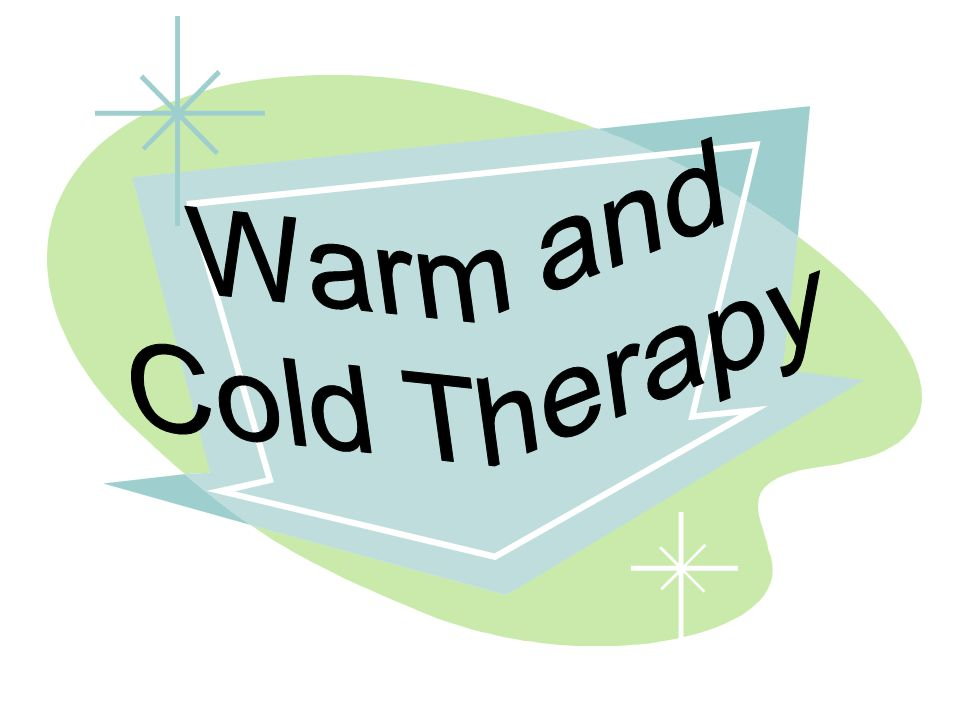 Warm and Cold Therapy