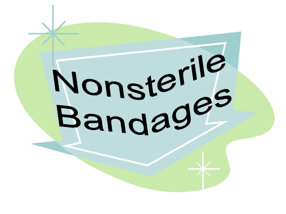 Nonsterile Bandages
