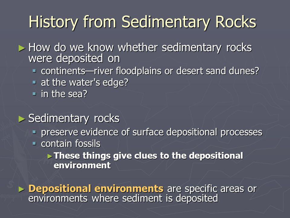 History from Sedimentary Rocks