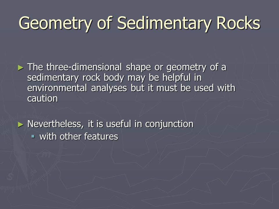 Geometry of Sedimentary Rocks