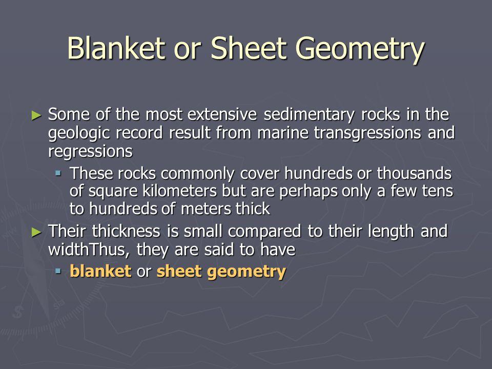 Blanket or Sheet Geometry