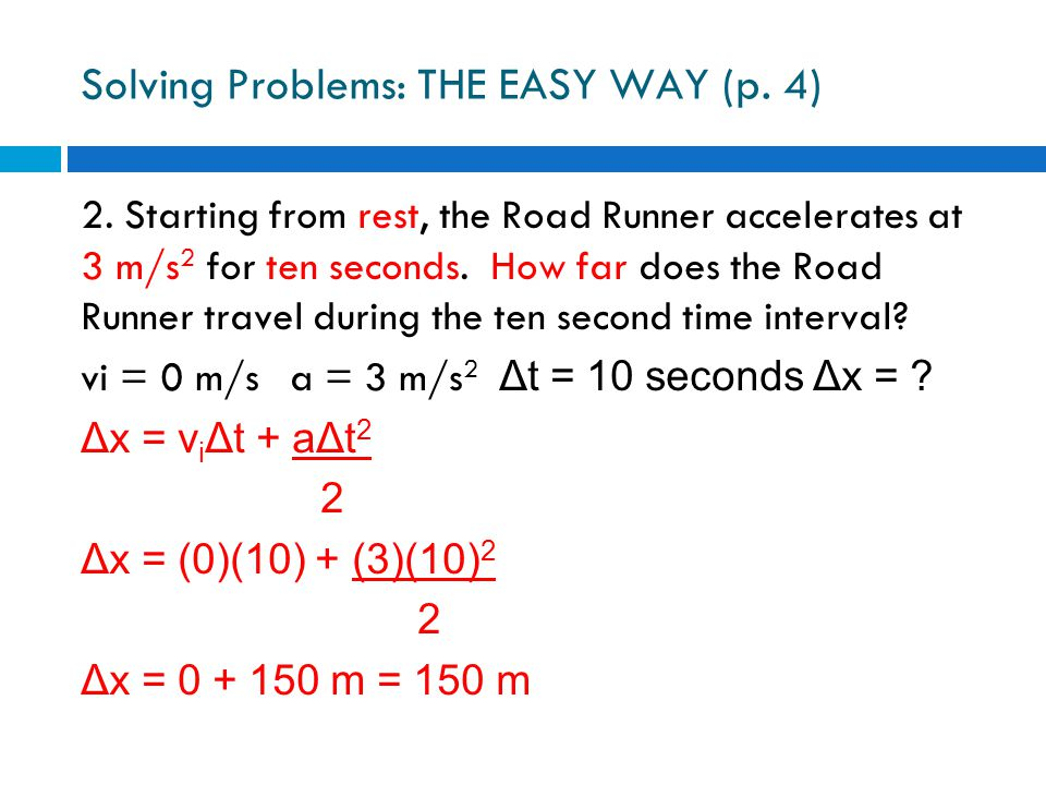 Solving Problems: THE EASY WAY (p. 4)