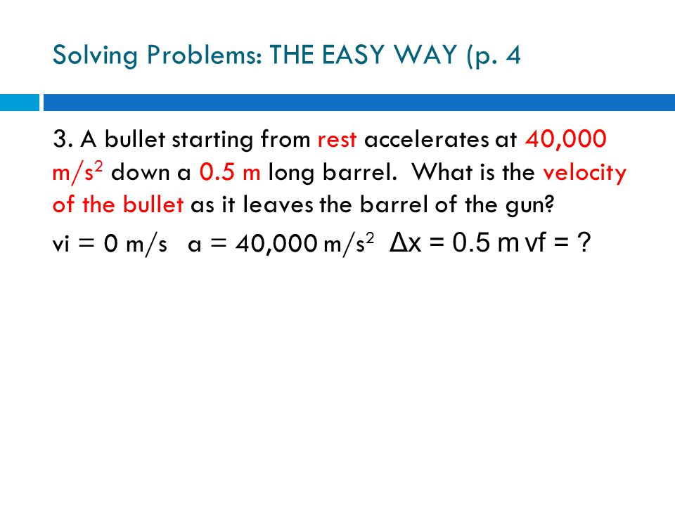 Solving Problems: THE EASY WAY (p. 4