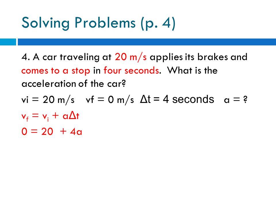 Solving Problems (p. 4)