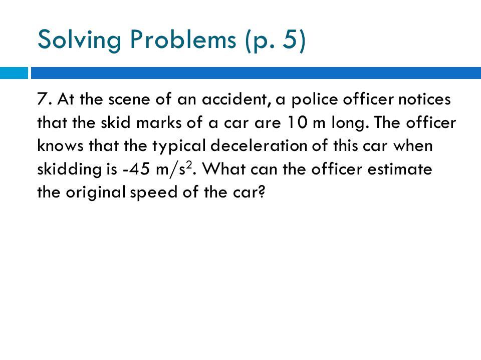 Solving Problems (p. 5)