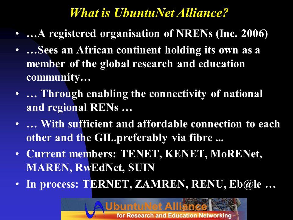 What is UbuntuNet Alliance
