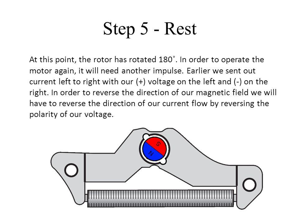 Step 5 - Rest