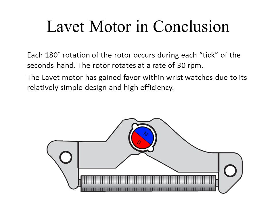Lavet Motor in Conclusion