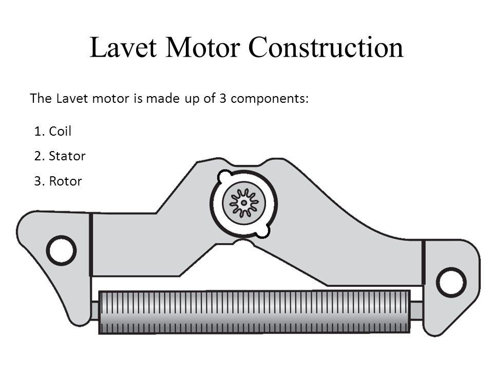 Lavet Motor Construction