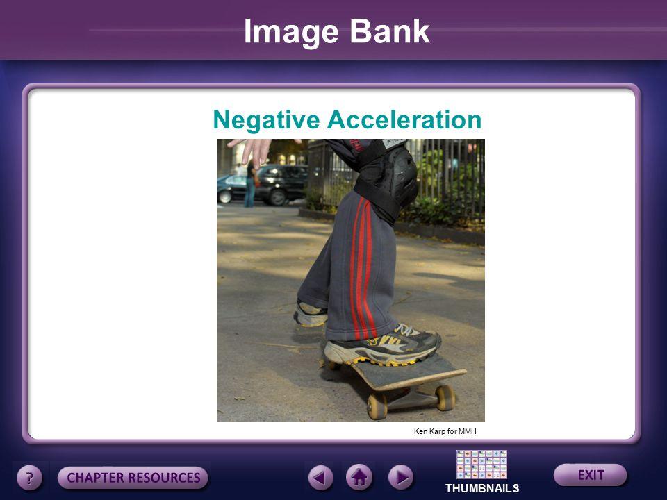Image Bank Negative Acceleration Ken Karp for MMH