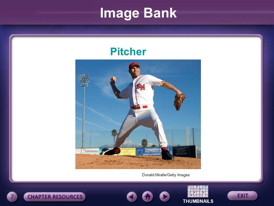 Image Bank Pitcher Donald Miralle/Getty Images
