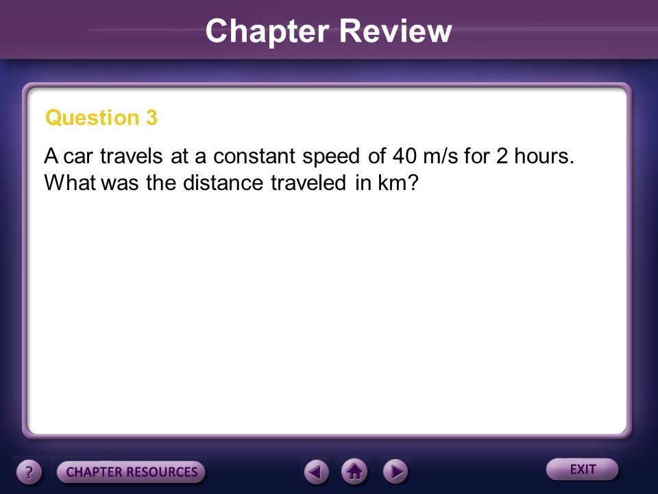 Chapter Review Question 3
