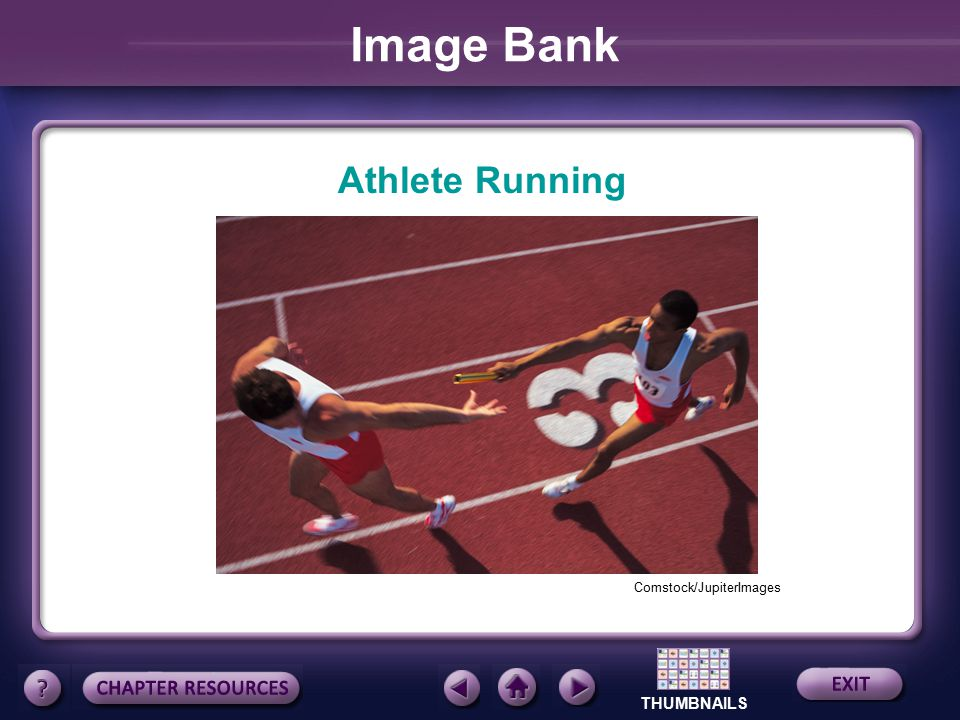 Image Bank Athlete Running Comstock/JupiterImages