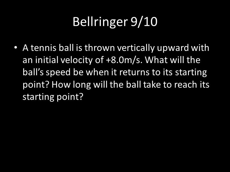 Bellringer 9/10