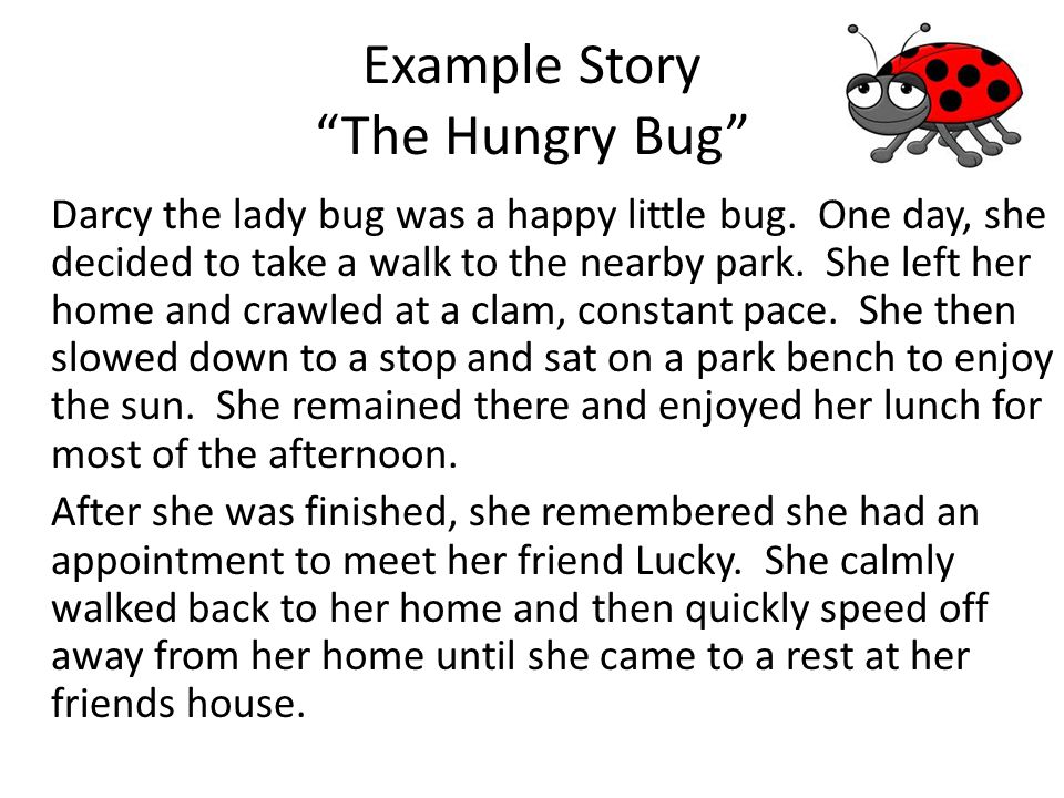 Example Story The Hungry Bug