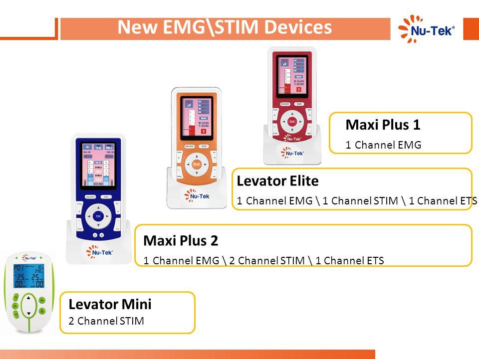 New EMG\STIM Devices Maxi Plus 1 Levator Elite