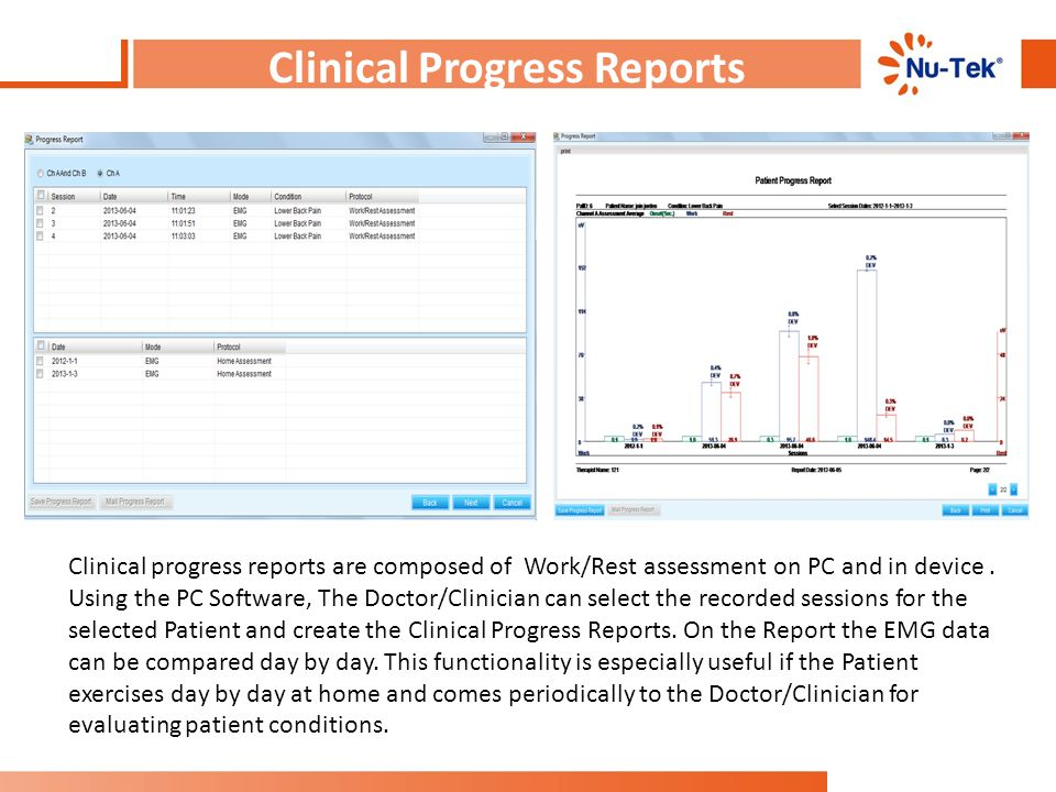 Clinical Progress Reports