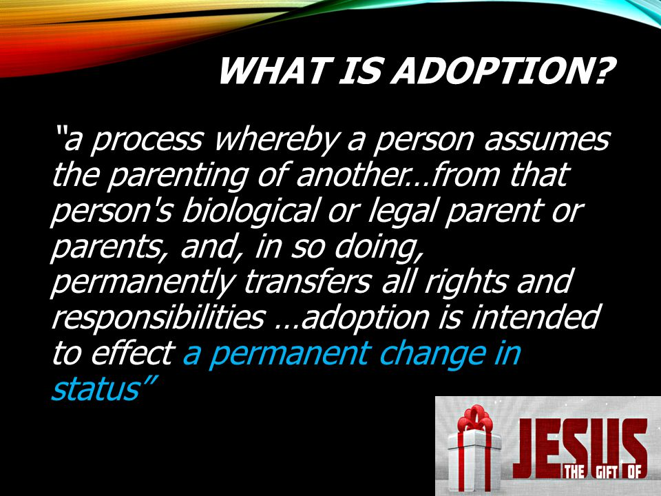 What is adoption
