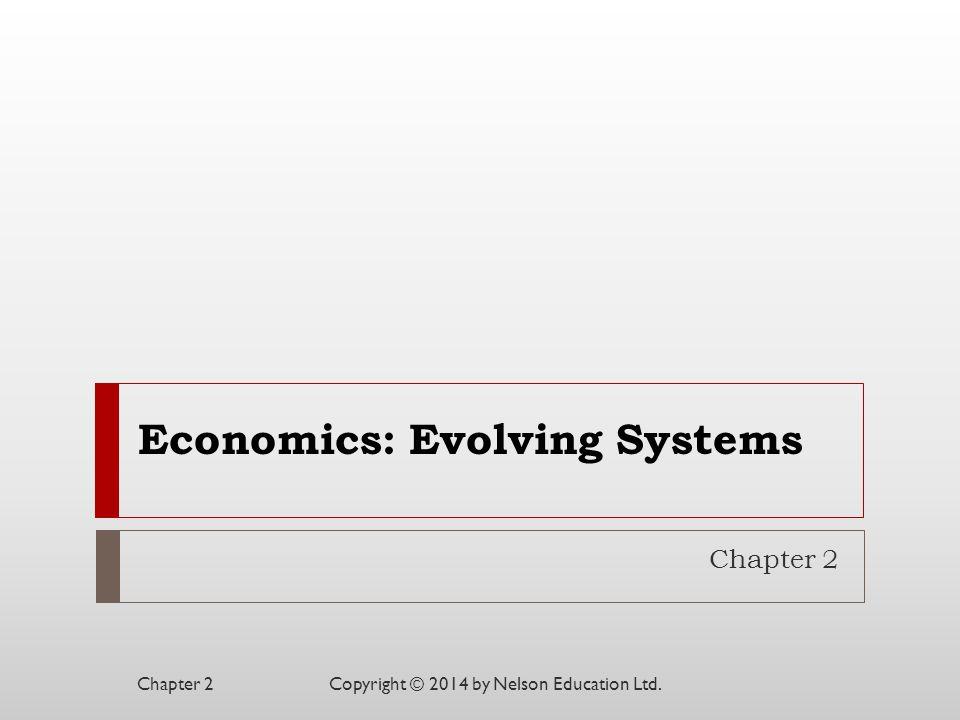 Economics: Evolving Systems