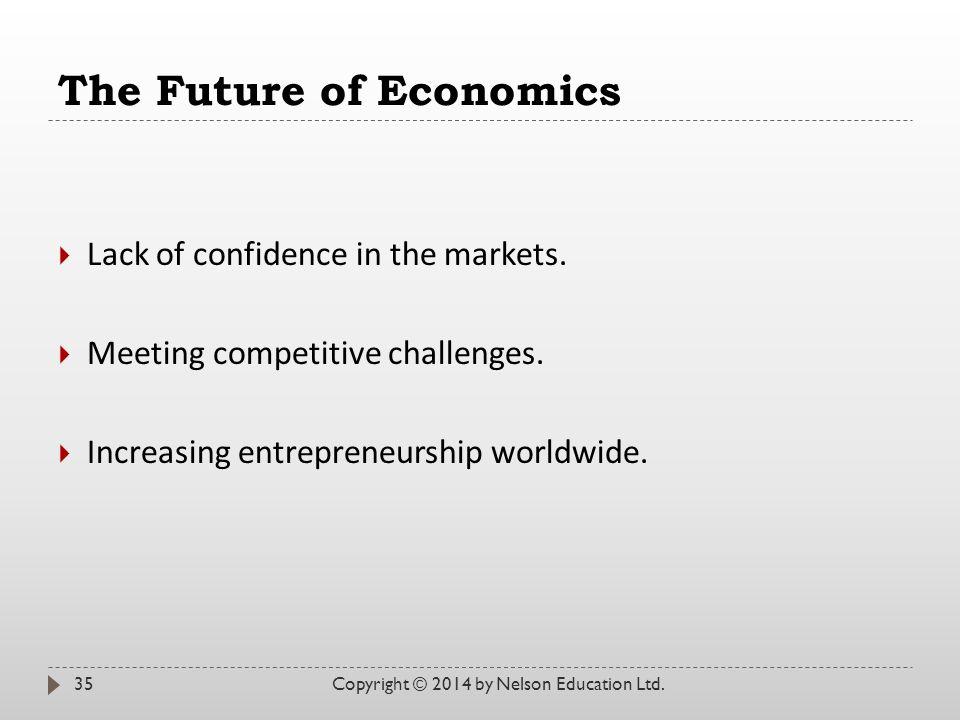 The Future of Economics