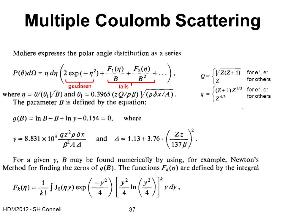 Multiple Coulomb Scattering