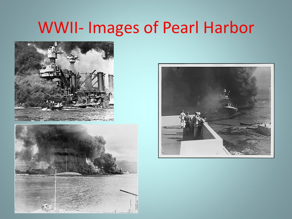 WWII- Images of Pearl Harbor