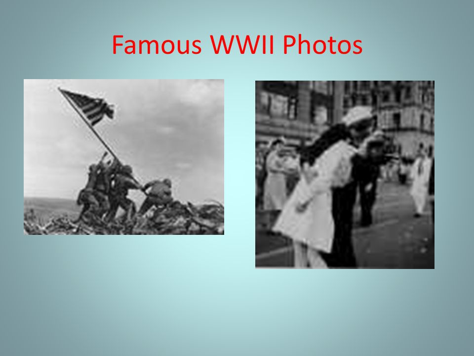 Famous WWII Photos