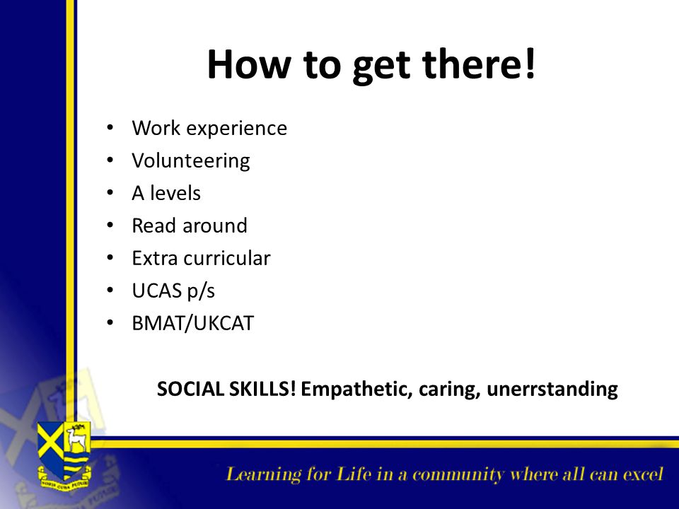 SOCIAL SKILLS! Empathetic, caring, unerrstanding