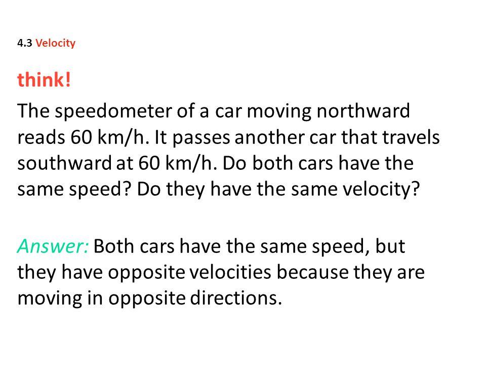 4.3 Velocity think!