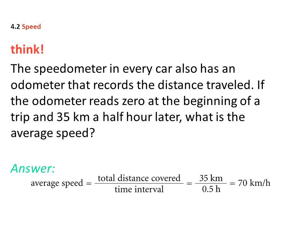 4.2 Speed think!