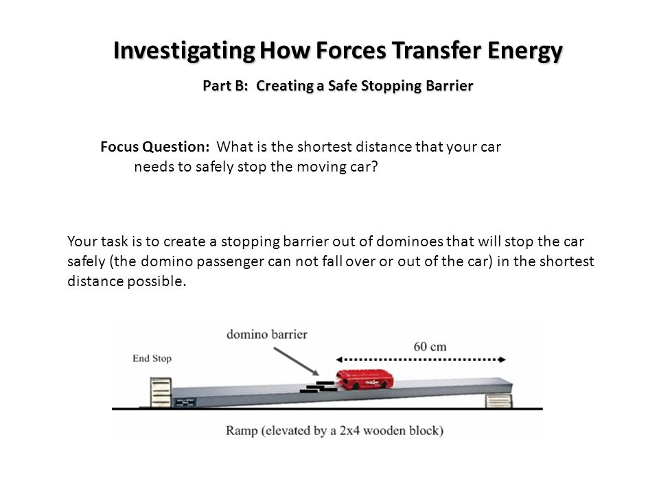 Investigating How Forces Transfer Energy