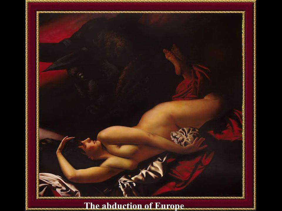 The abduction of Europe