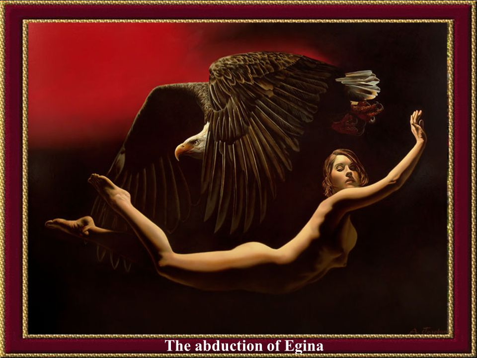 The abduction of Egina