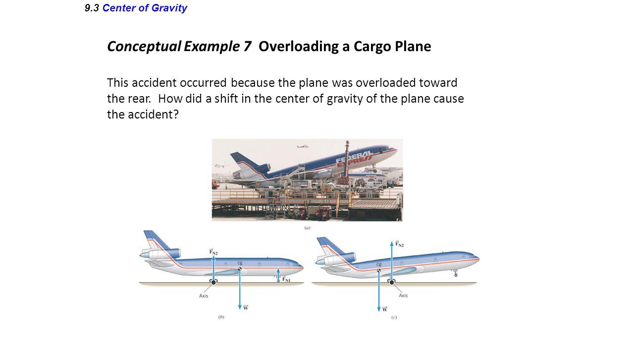 Conceptual Example 7 Overloading a Cargo Plane