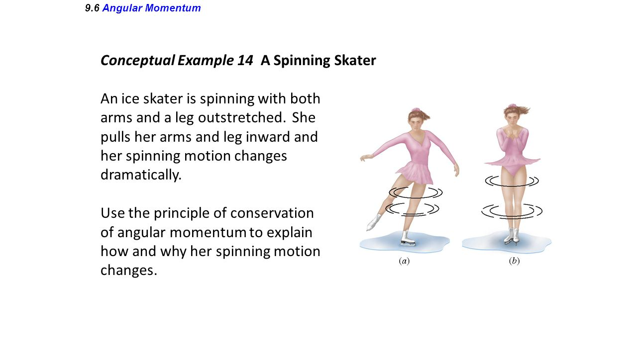 Conceptual Example 14 A Spinning Skater