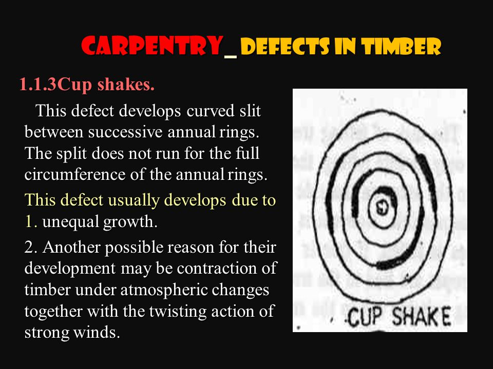 Carpentry_ Defects in Timber