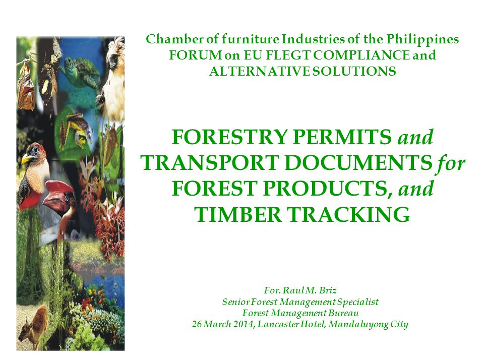 Chamber of furniture Industries of the Philippines