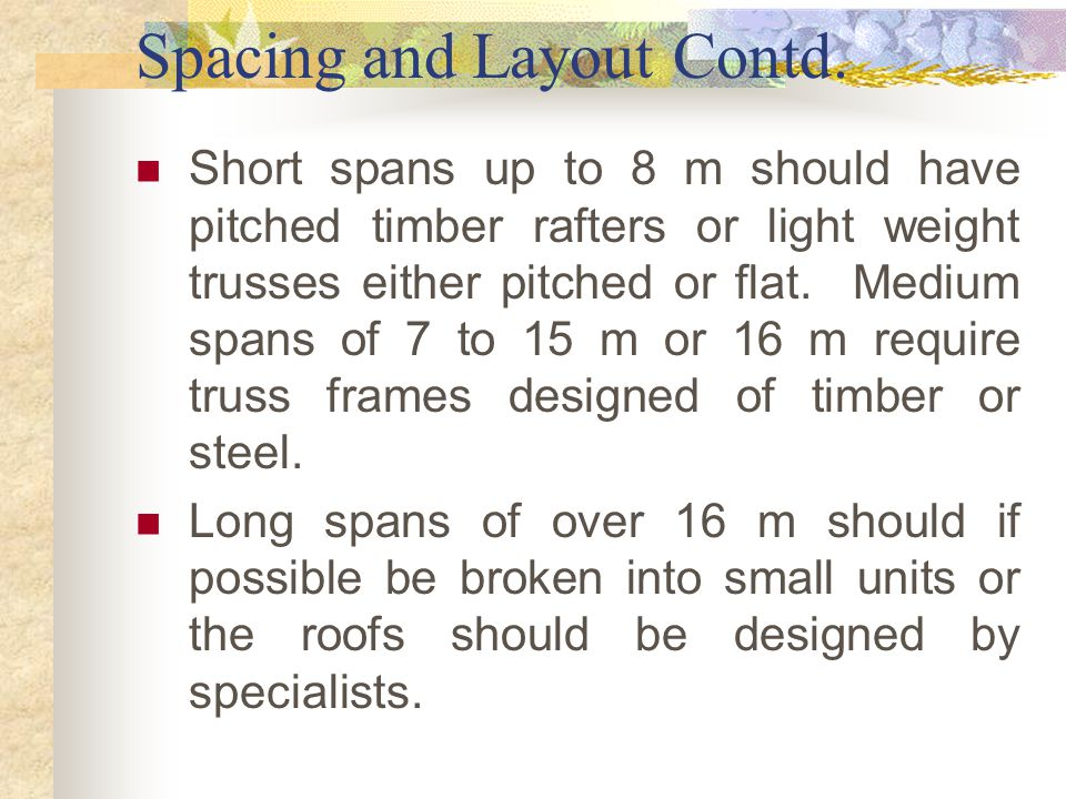 Spacing and Layout Contd.