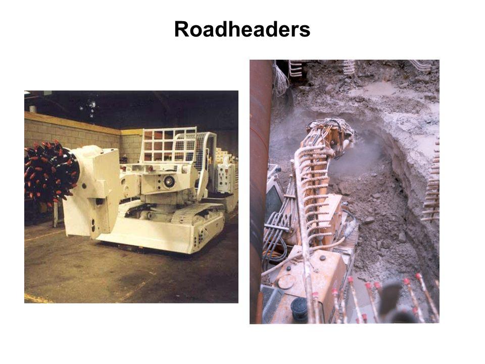 Roadheaders