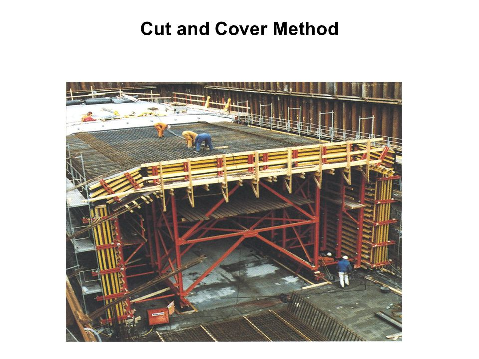 Cut and Cover Method