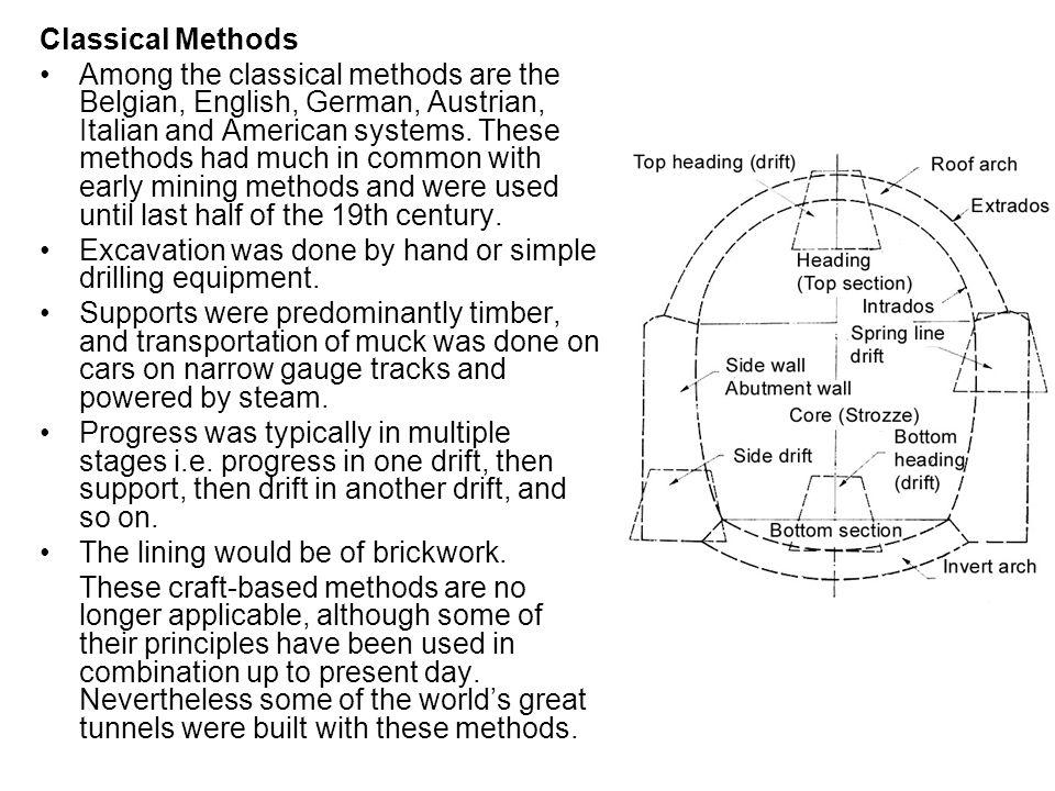 Classical Methods