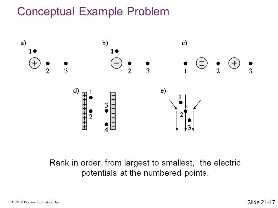Conceptual Example Problem